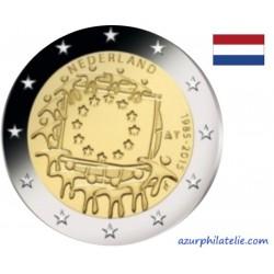 2 euro commémorative - Netherlands - 2015 - 30th anniversary of the EU flag - UNC