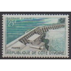 Ivory Coast - 1961 - Nb 200 - Sights