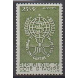 Côte d'Ivoire - 1962 - No 205 - Santé ou Croix-Rouge