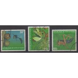 Ivory Coast - 1979 - Nb 508C/508E - Insects - Used