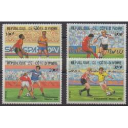 Côte d'Ivoire - 1985 - No 721/724 - Coupe du monde de football