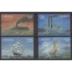 Liberia - 2001 - No 3716/3719 - Navigation