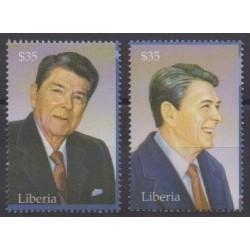 Liberia - 2003 - No 4046/4047 - Célébrités