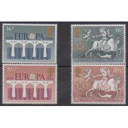 Great Britain - 1984 - Nb 1126/1129 - Europe - Europa