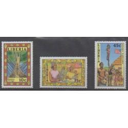 Liberia - 1988 - Nb 1105/1107