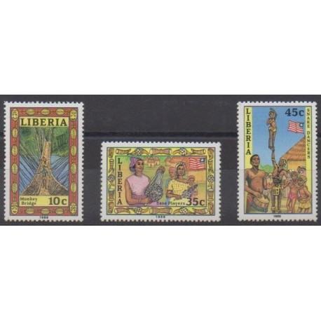 Liberia - 1989 - No 1132/1134