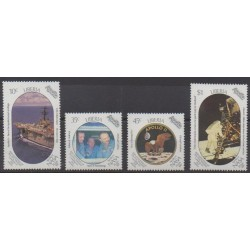 Liberia - 1989 - Nb 1128/1131 - Space
