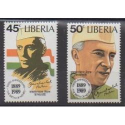 Liberia - 1989 - Nb 1135/1136 - Celebrities