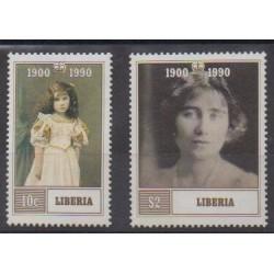 Liberia - 1990 - Nb 1207/1208 - Royalty