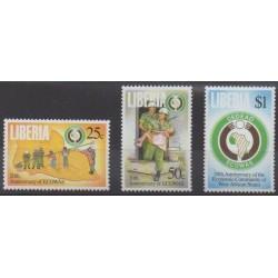 Liberia - 1995 - Nb 1303/1305 - Various Historics Themes