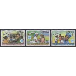 Liberia - 1996 - Nb 1332/1334 - Childhood