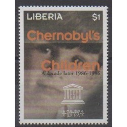 Liberia - 1997 - Nb 1553 - Environment