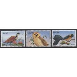Liberia - 1996 - No 1361/1363 - Oiseaux