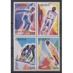 Liberia - 1997 - No 1504/1507 - Jeux olympiques d'hiver