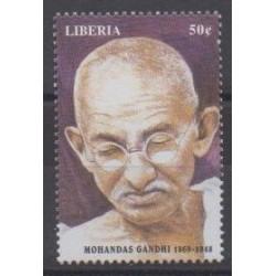 Liberia - 1998 - No 1801 - Célébrités