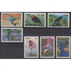 Liberia - 1998 - No 1745/1751 - Oiseaux