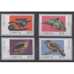 Liberia - 2000 - No 2553/2556 - Oiseaux