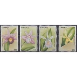 Liberia - 2000 - Nb 2715/2718 - Orchids