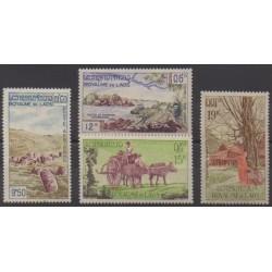 Laos - 1960 - Nb PA35/PA38 - Tourism