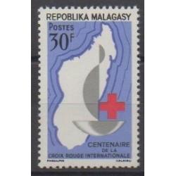 Madagascar - 1963 - No 384 - Santé ou Croix-Rouge