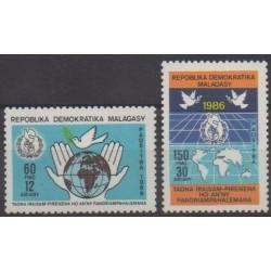 Madagascar - 1986 - No 782/783