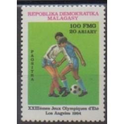 Madagascar - 1984 - No 714 - Jeux Olympiques d'été - Football
