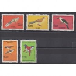 Madagascar - 1986 - No 785/789 - Oiseaux