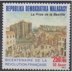 Madagascar - 1989 - No 921 - Révolution Française