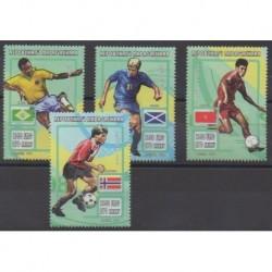 Madagascar - 1998 - No 1536/1539 - Coupe du monde de football