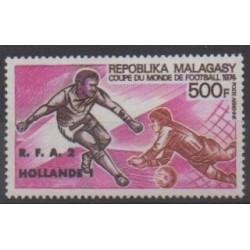 Madagascar - 1974 - Nb PA143 - Soccer World Cup