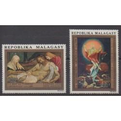 Madagascar - 1977 - No PA125/PA126 - Peinture