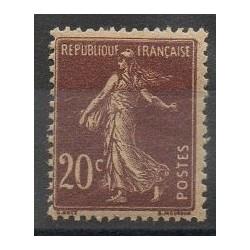 France - Varieties - 1907 - Nb 139e