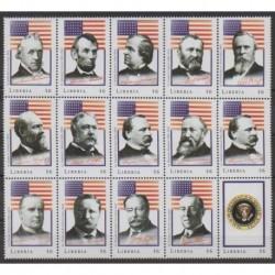Liberia - 2000 - No 2757/2771 - Célébrités