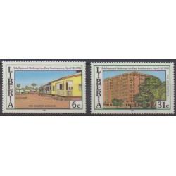 Liberia - 1985 - Nb 1007/1008 - Various Historics Themes