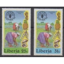Liberia - 1985 - Nb 1030/1031