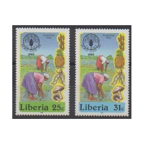 Liberia - 1985 - No 1030/1031