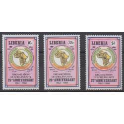 Liberia - 1988 - No 1091/1093 - Histoire