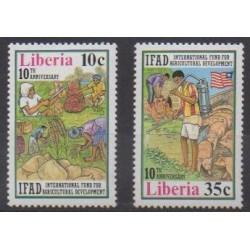 Liberia - 1988 - Nb 1108/1109