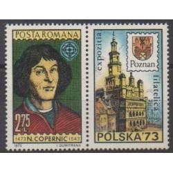 Roumanie - 1973 - No 2744 - Astronomie - Philatélie