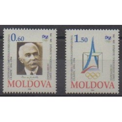 Moldova - 1994 - Nb 112/113 - Summer Olympics - Winter Olympics