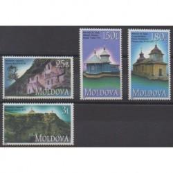 Moldova - 2000 - Nb 316/319 - Churches