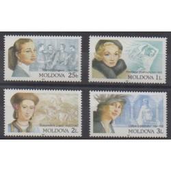 Moldova - 2001 - Nb 333/336 - Celebrities