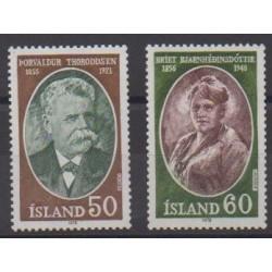 Iceland - 1978 - Nb 481/482 - Celebrities