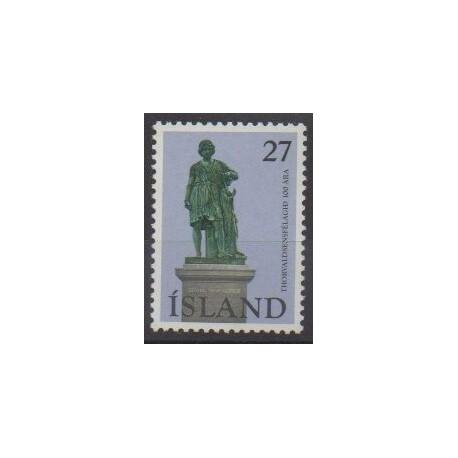 Islande - 1975 - No 464 - Monuments
