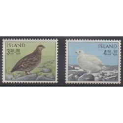 Iceland - 1965 - Nb 343/344 - Birds
