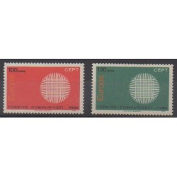 Turkey - 1970 - Nb 1952/1953 - Europa