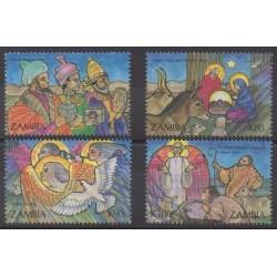 Zambia - 1992 - Nb 570/573 - Christmas