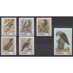 Zambia - 1991 - Nb 530/535 - Birds