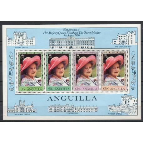 Anguilla - 1980- No BF 33 - Royauté
