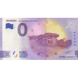 Euro banknote memory - 29 - Gouézec - Allée couverte de Loch-ar-Ronfl - 2021-2 - Anniversary